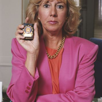 District Attorney Linda Fairstein pictured in 1990