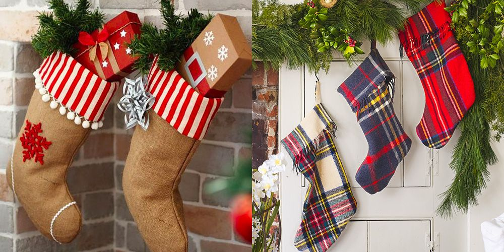 23 Diy Christmas Stockings How To Make Christmas Stockings Craft Ideas Woman S Day