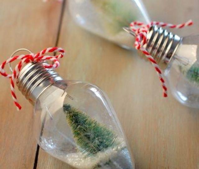 Homemade Diy Christmas Ornament Craft Ideas How To Make Holiday Ornaments