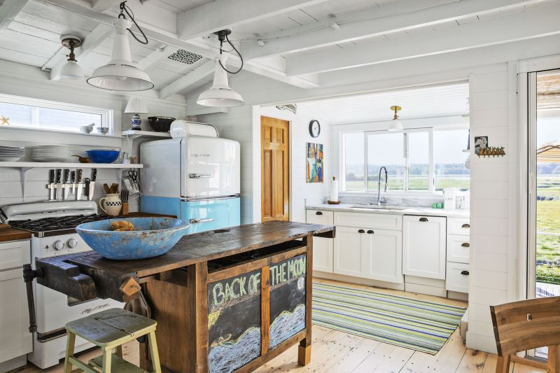 kitchen in southern maine