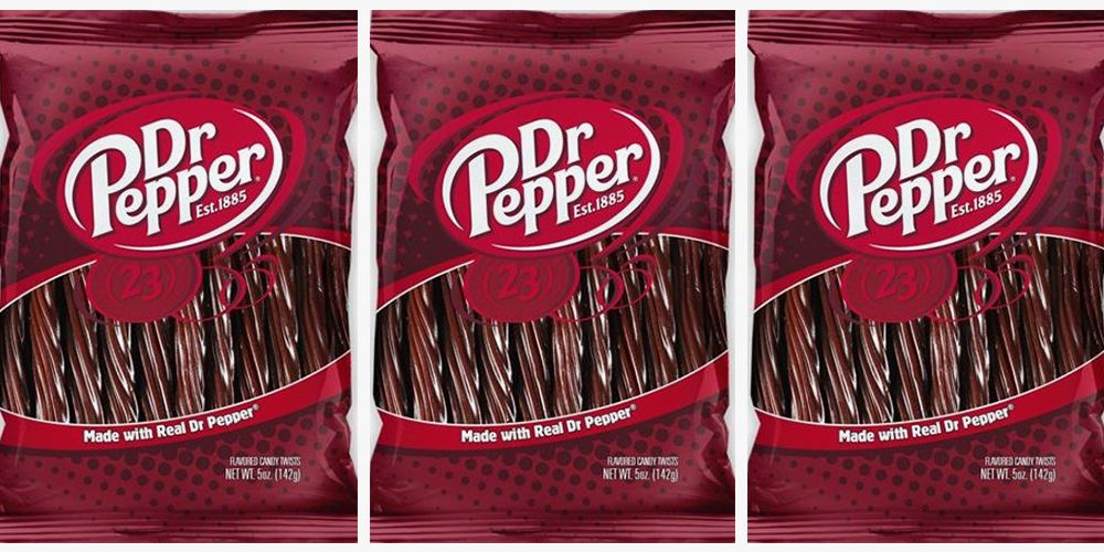 dr pepper flavored licorice