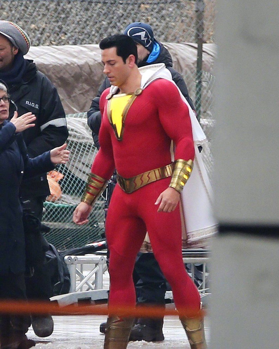 Is Zachary Levi Wearing Fake Muscles for Shazam An