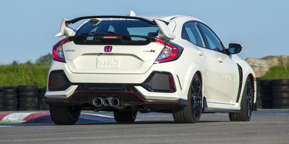medium resolution of why the 2017 honda civic type r has three tailpipes