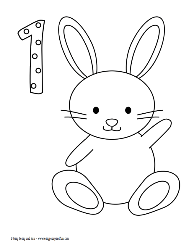 26 Best Easter Coloring Pages for Kids - Easter Crafts for Children