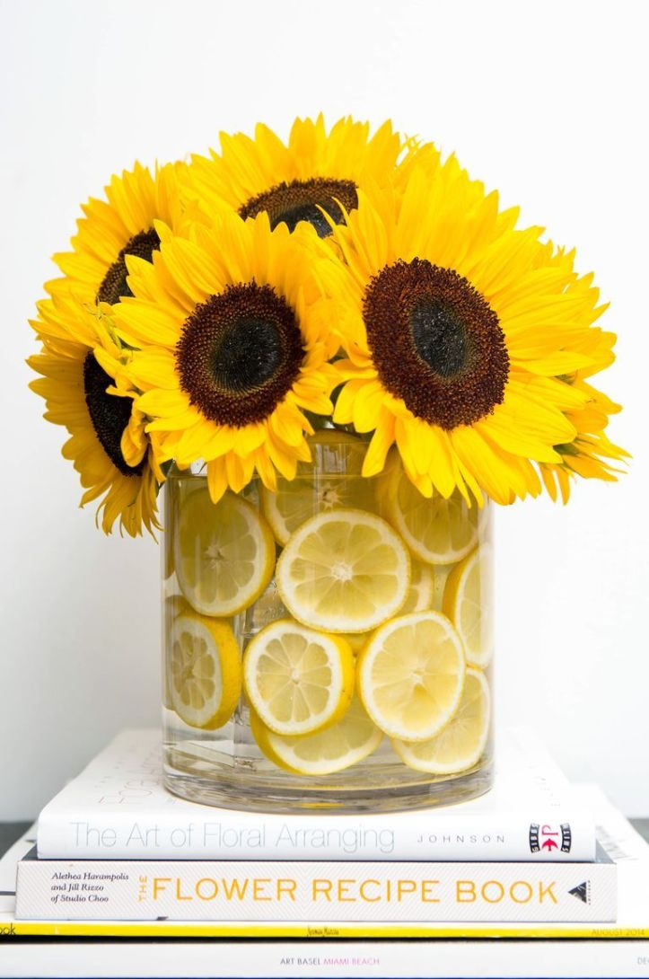 easter flowers - lemon sunflower