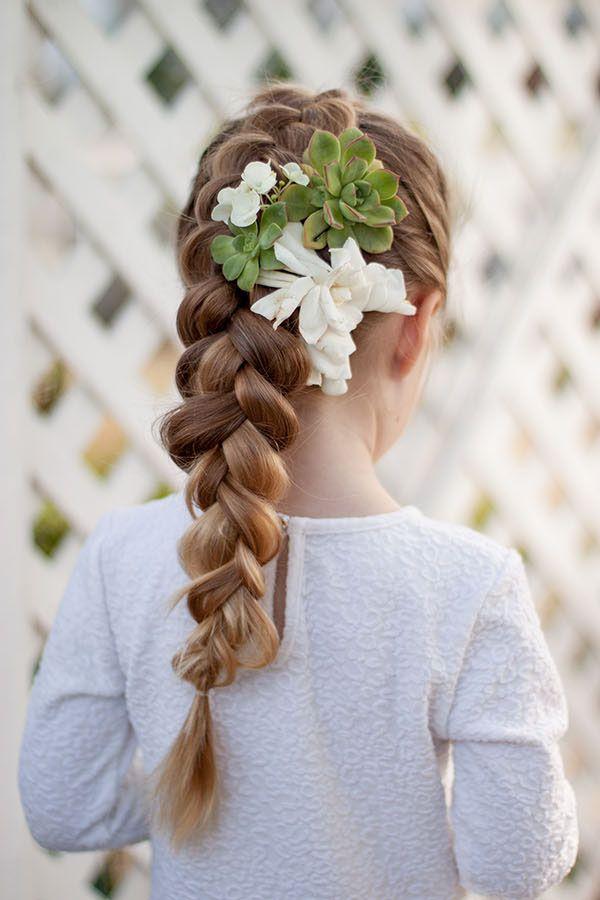 cute easter hairstyles kids