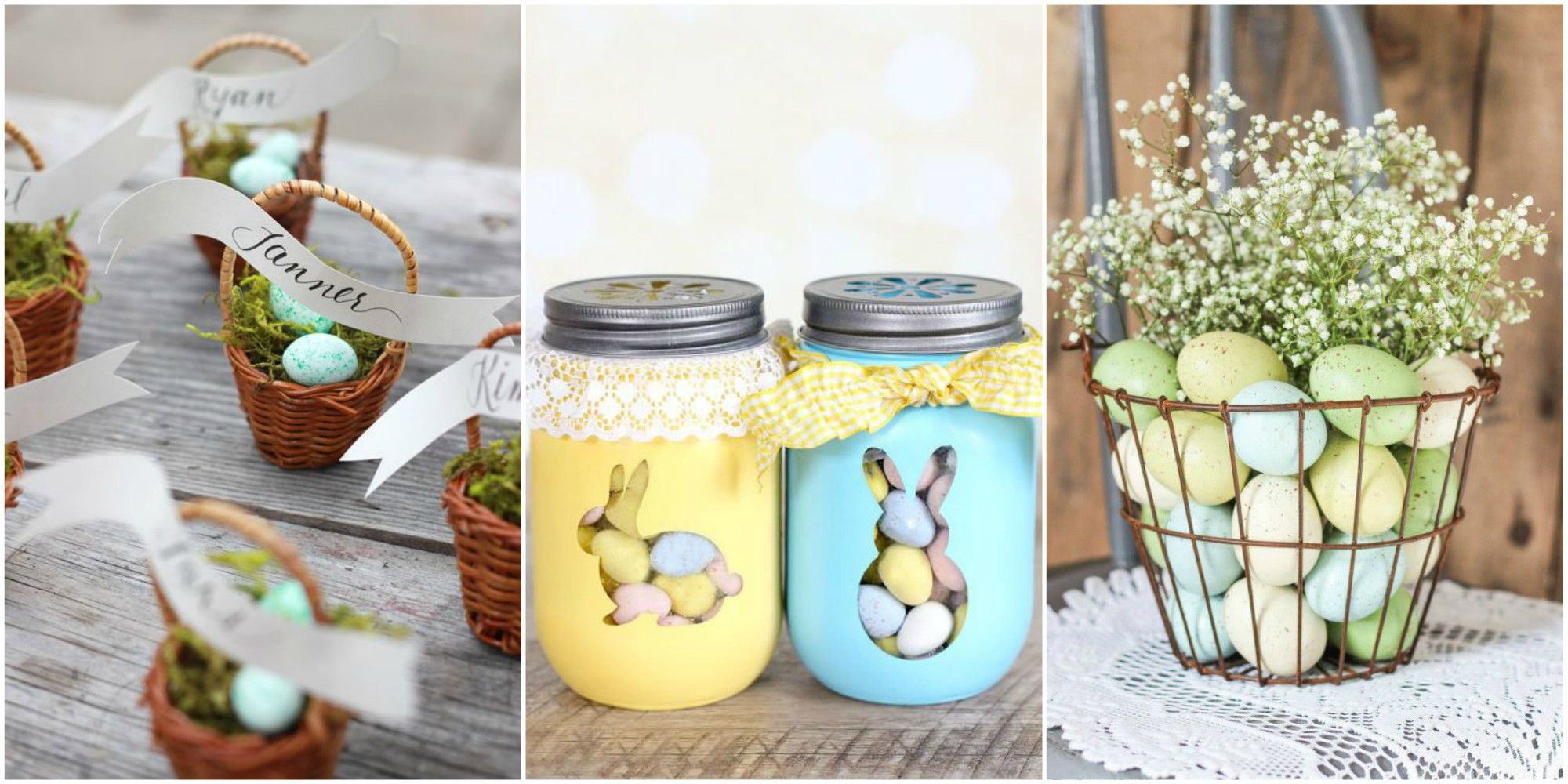 Kitchen decorating ideas table centerpieces