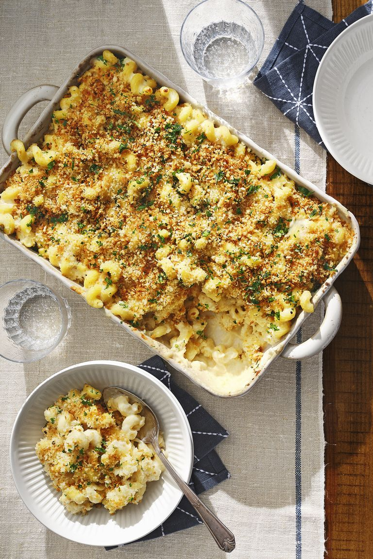 easter side dishes cauliflower mac and cheese