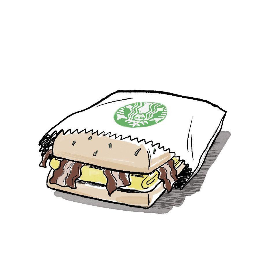 starbucks bacon and gouda sandwich