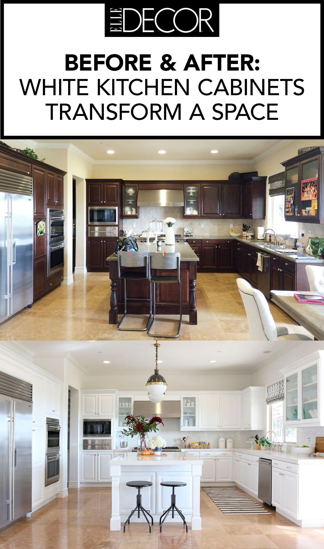 white kitchen cabinets ideas warehouse 14 best design for pin these later more follow elle decor on pinterest