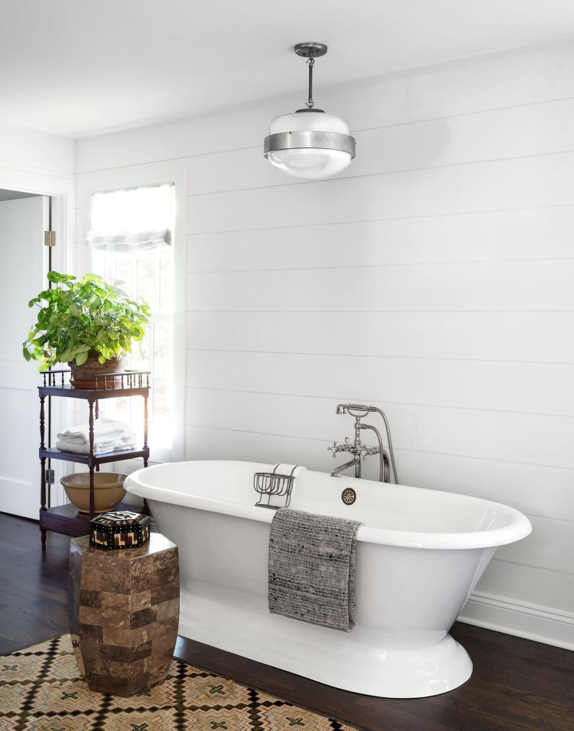 james huniford white cast iron tub