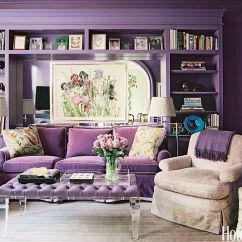 Lavender Living Room Ideas Furn 18 Best Purple Rooms Lilac And Violet Decorating