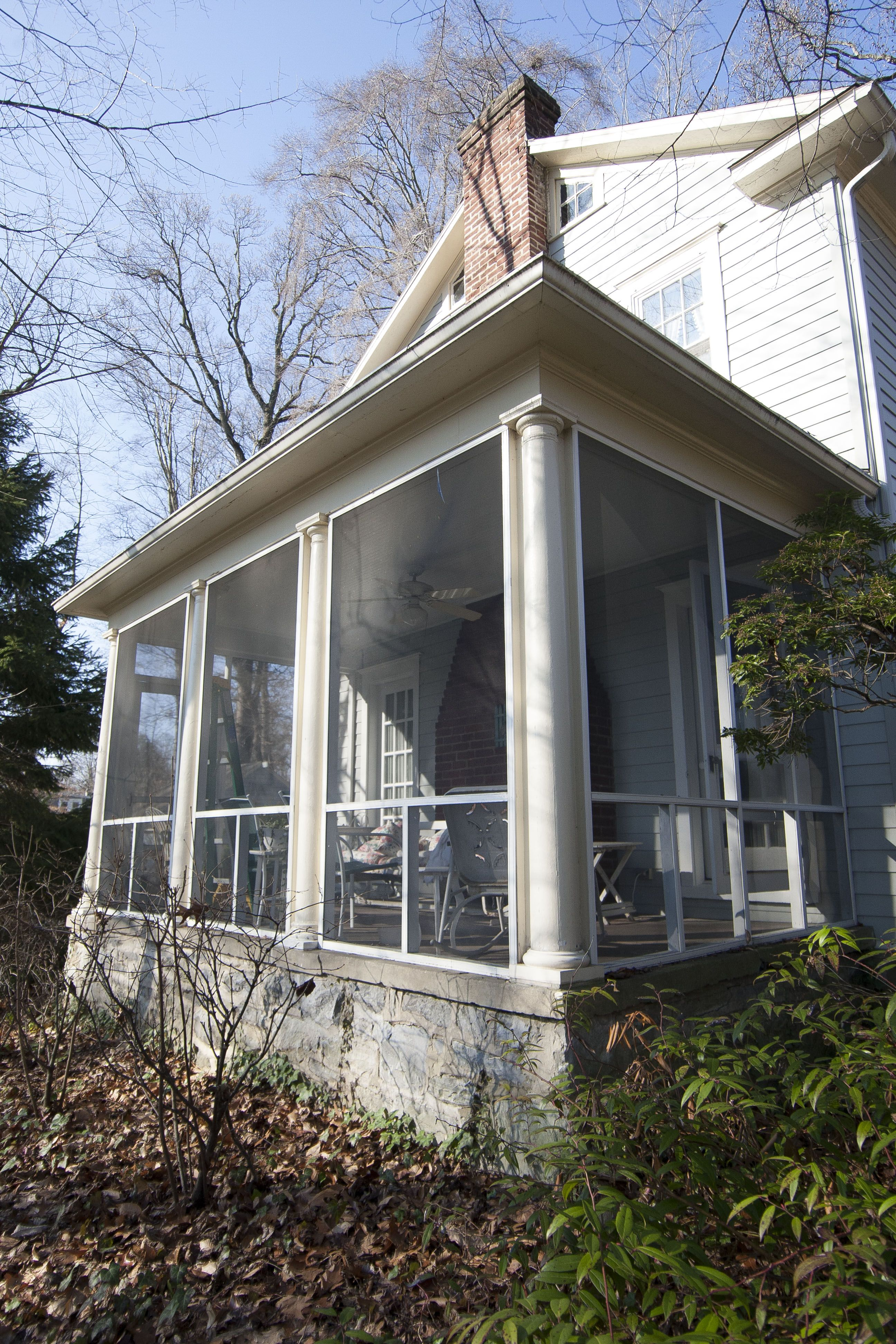 how to enclose a screened in porch