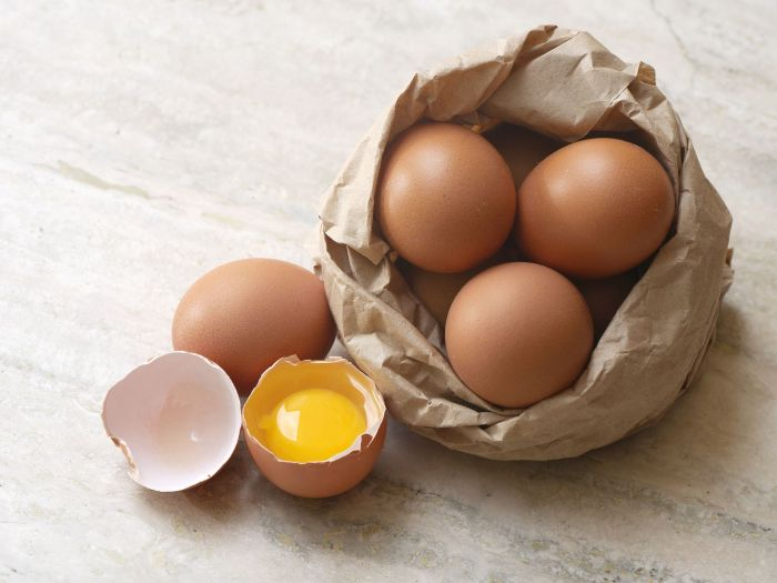 Eggs composition
