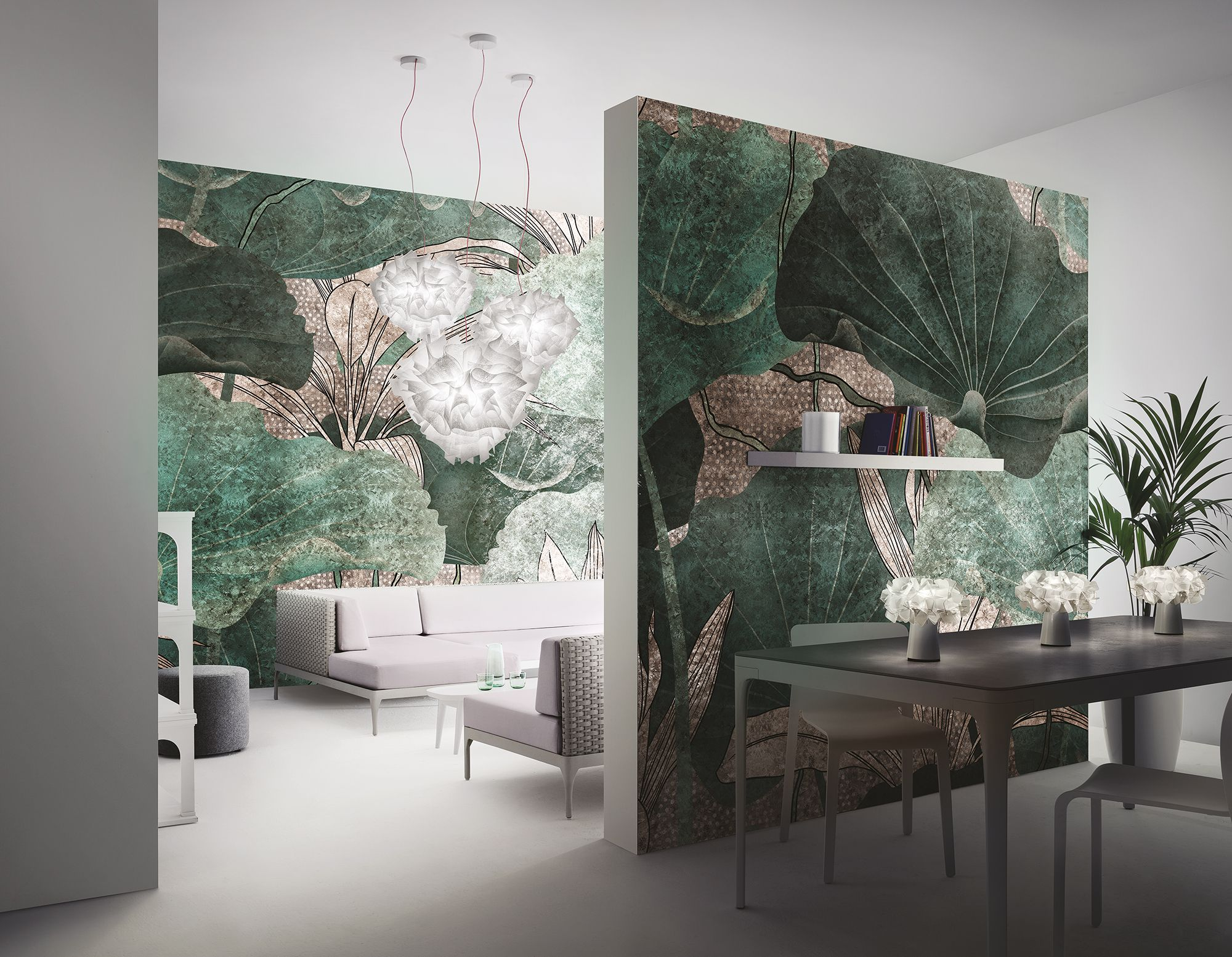 Moderno non è sinonimo di freddo, di minimale, di razionalità. Inkiostro Bianco Wallpaper 10 New Design In Goldenwall 2019