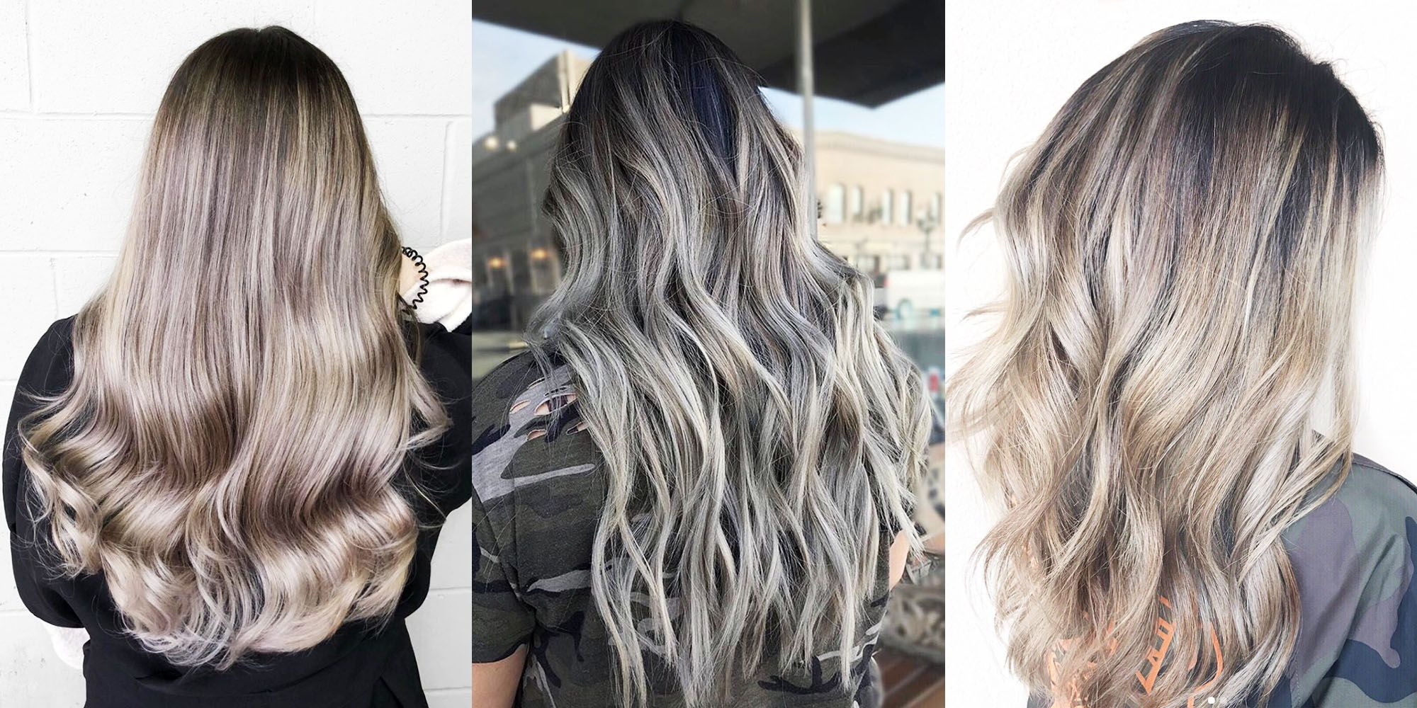 ash brown hair color ideas 2018