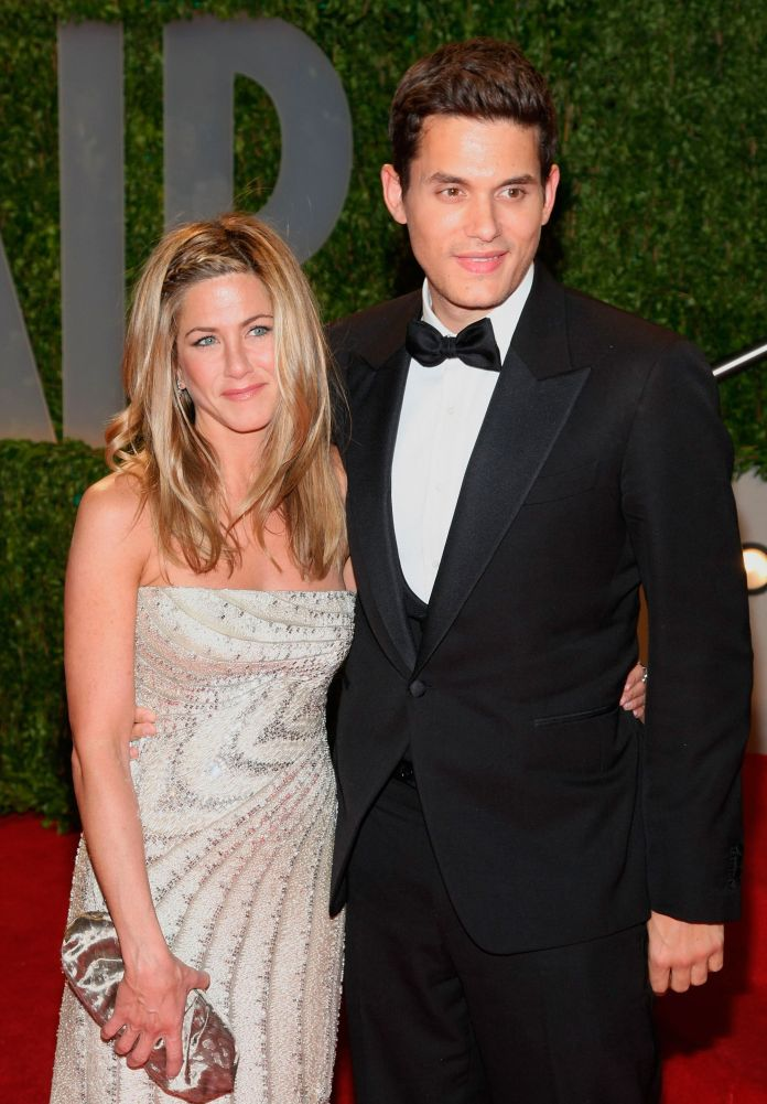 Jennifer Aniston and John Mayer when they were a couple