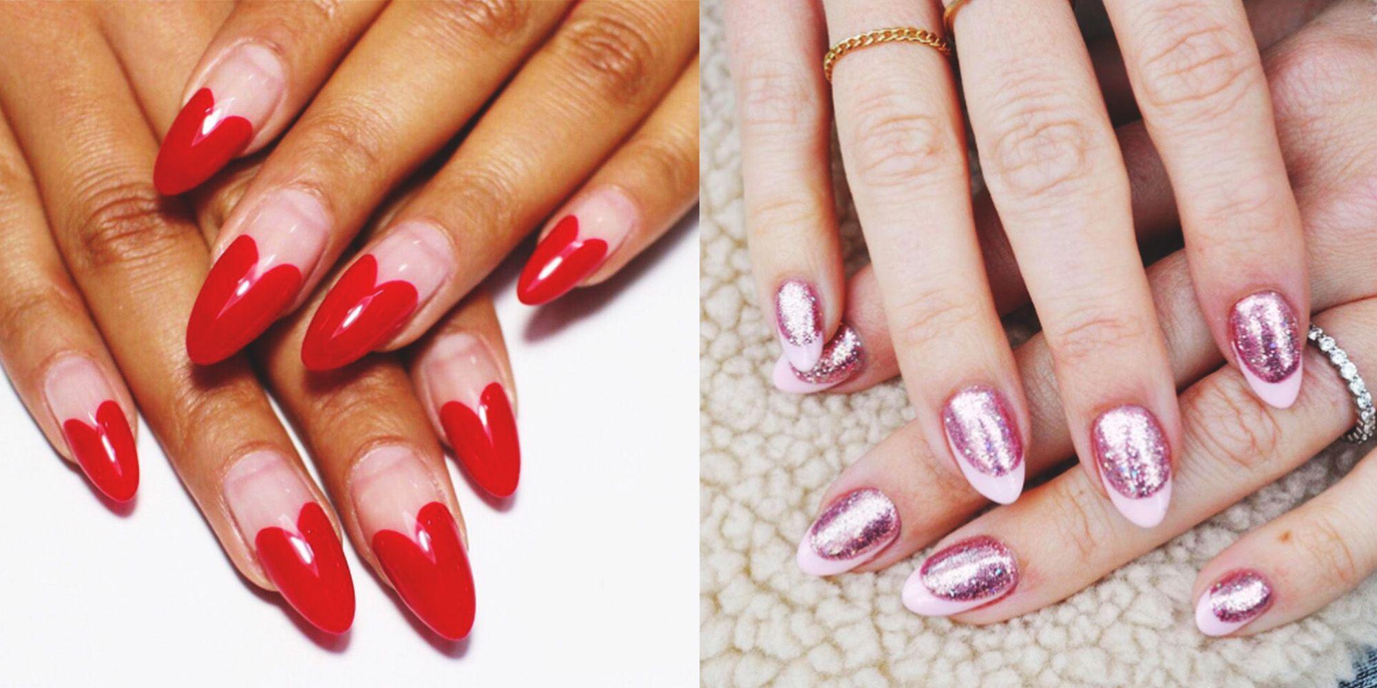 easy valentine's day nail art