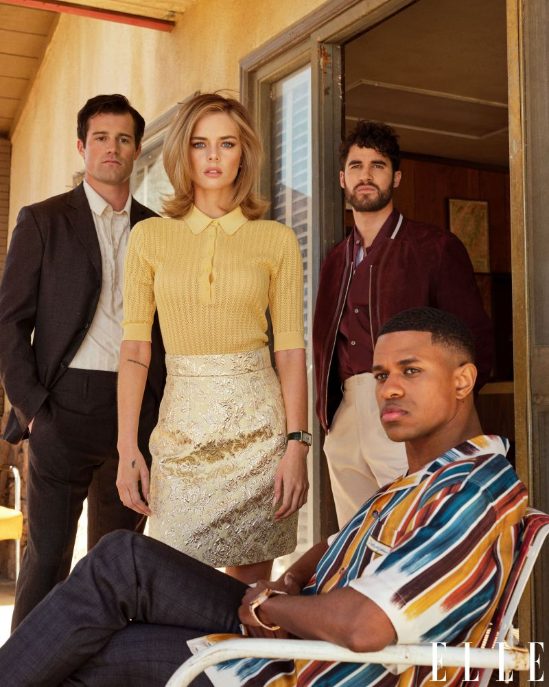 jake picking, samara weaving, darren criss, jeremy pope