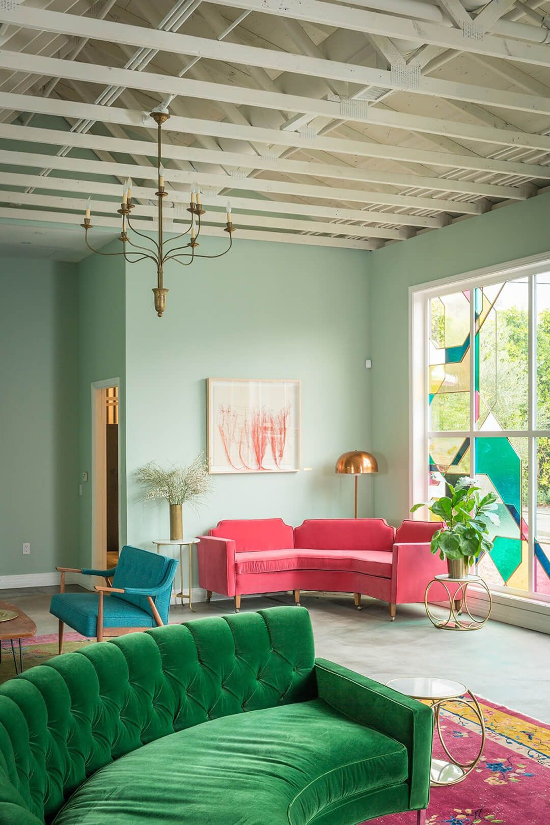 green paint colours for living rooms design room tables 14 calming colors soothing and relaxing every courtesy of ryan phillips emily henderson designs blue