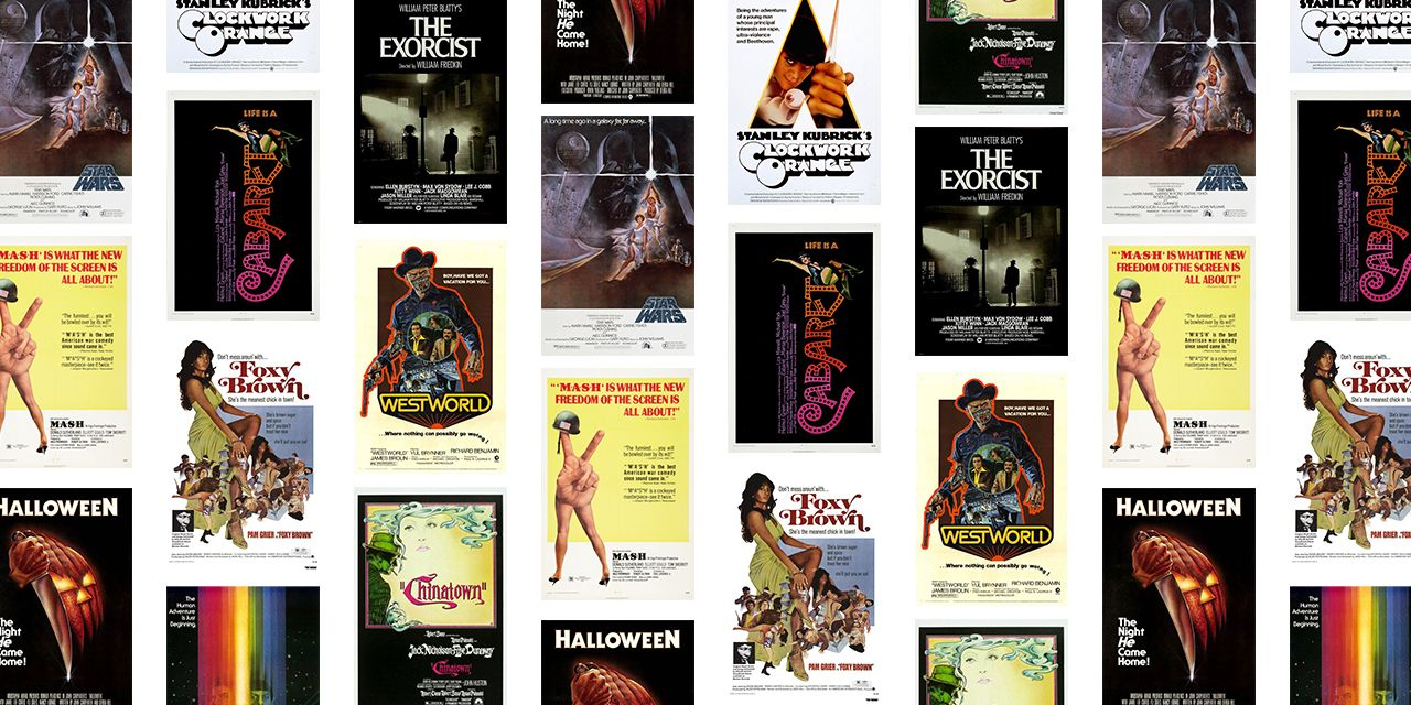 50 Most Iconic 70s Movie Posters Best 1970s Movie Poster Art