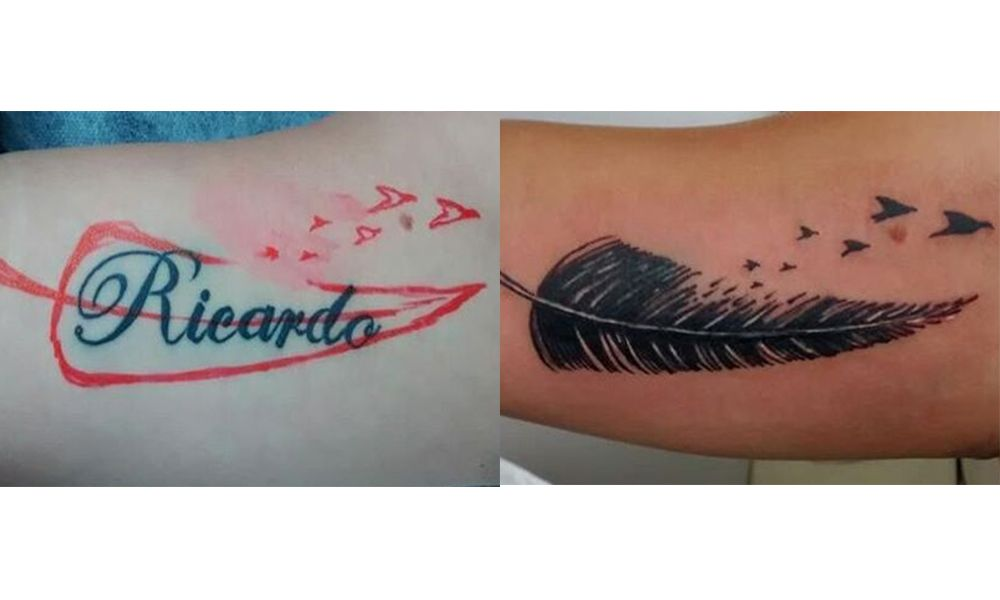 Tattoo Designs For Girls On Hand Name P