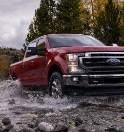 the 2020 ford super duty gets a giant 7 3 liter gasoline v8 [ 3000 x 1500 Pixel ]