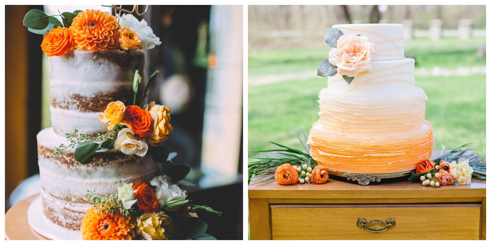 Fall Themed Wedding Cake Ideas