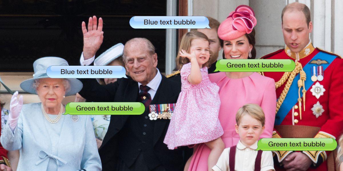 La famiglia reale inglese ha un gruppo di Whatsapp per matrimoni e gravidanze
