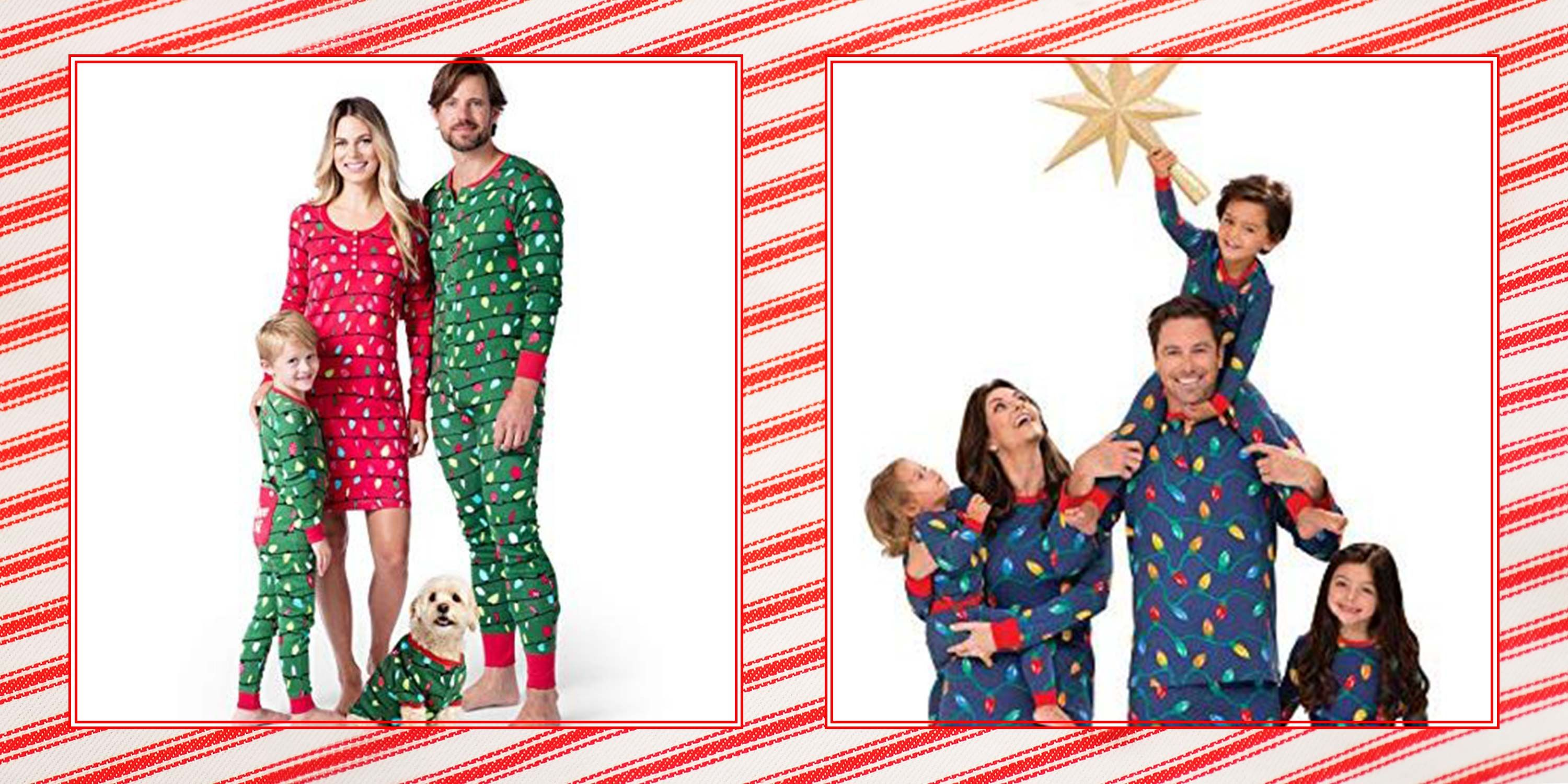 Matching Family Christmas Pajamas.Newborn Toddler Matching Christmas Pajamas