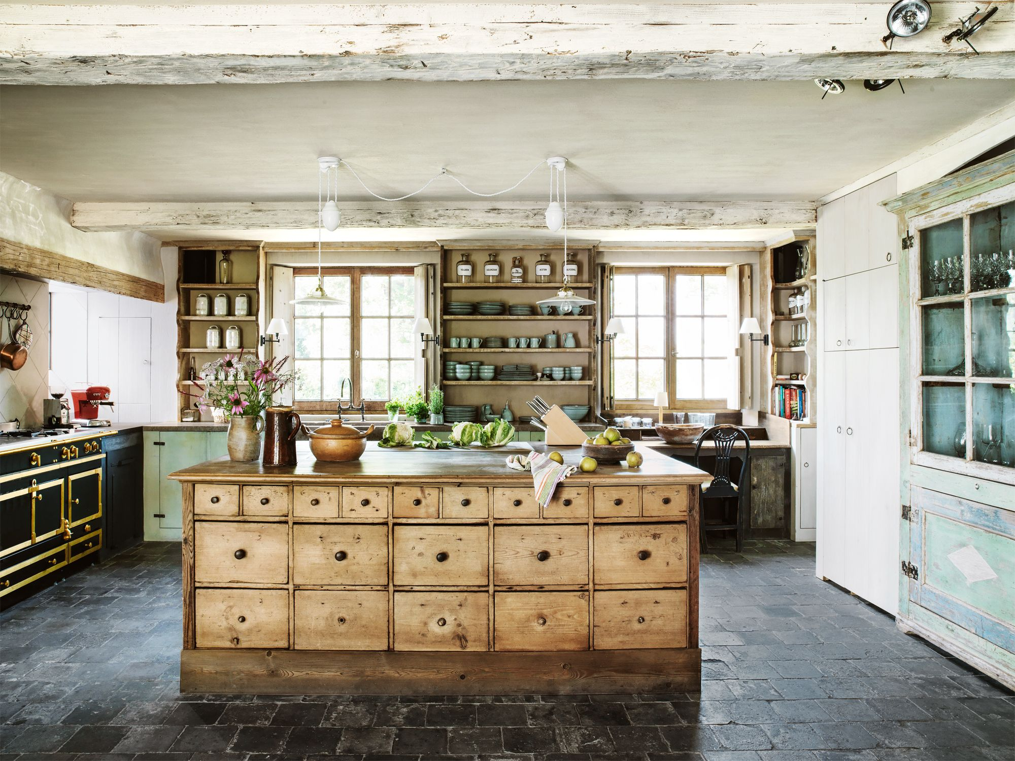 farmhouse kitchen cabinets kids play kitchens 24 style rustic decor ideas for
