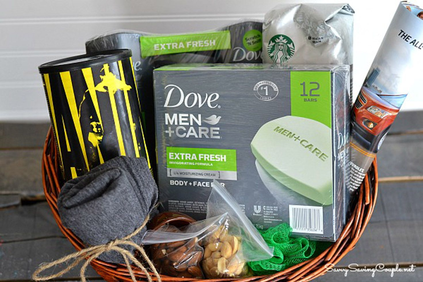13 DIY Fathers Day Gift Baskets  Homemade Ideas for Gift
