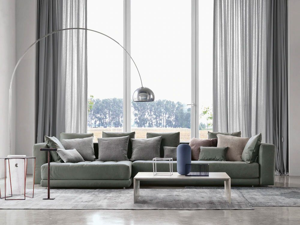 Poltrone e divani raccontano il 900: Arco Floor Lamp Best Floor Lamp For Rooms Without Overhead Lighting