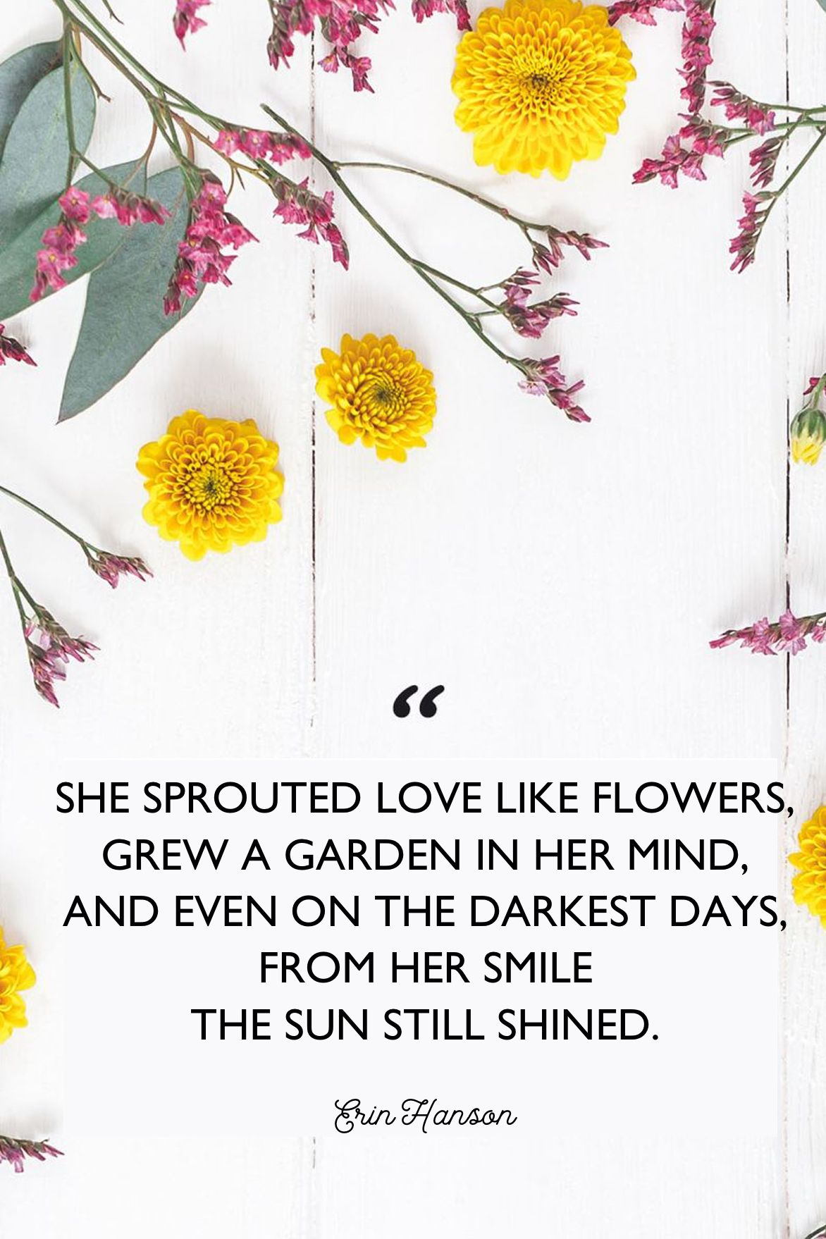 50 Inspirational Flower Quotes Cute Flower Sayings About Life And Love