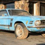 Encuentran Este Ford Mustang Boss 302 Tras Pasar 40 Anos Abandonado