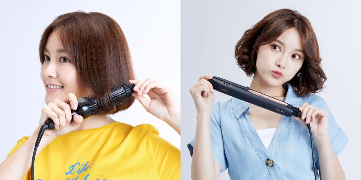 只要3步驟!手殘女也能輕鬆捲出夏日最夯的短髮造型,就靠這兩個「髮」寶!
