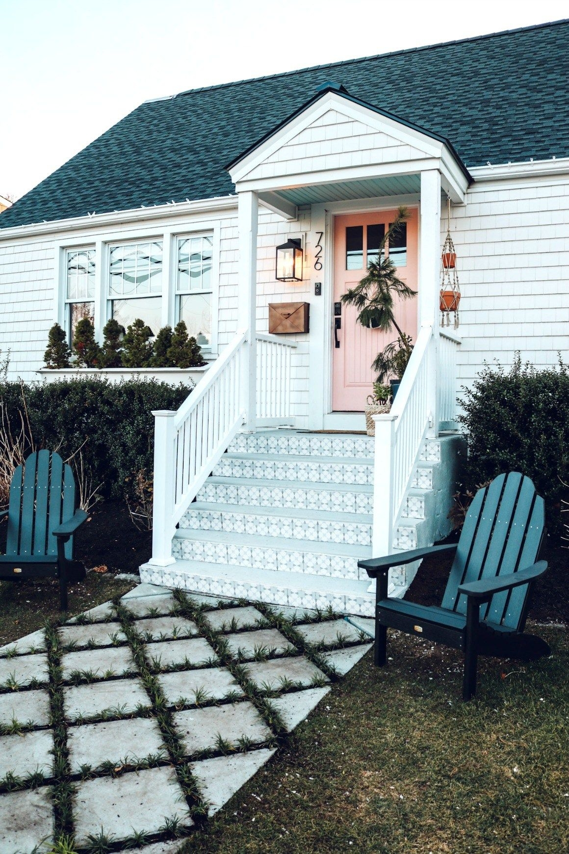 20 Diy Front Step Ideas Creative Ideas For Front Entry Steps | Staircase Design In Front Of House | Front Wall | Boundary Wall | Front Side | Indian Style | Outdoor