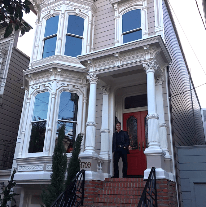 The Full House Home In San Francisco