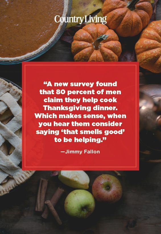funny quote about thanksgiving by jimmy fallon