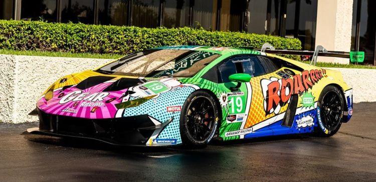 Lamborghini Huracan GT3 Race Car's Pop Art Livery Is Amazing