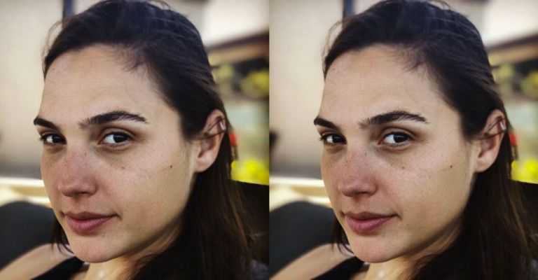 No Makeup Selfies Celebrities Taking Selfies Without Makeup
