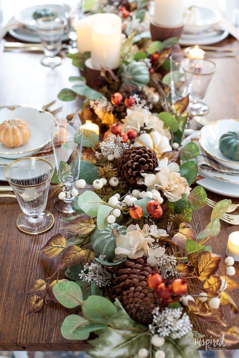 thanksgiving decorations runner