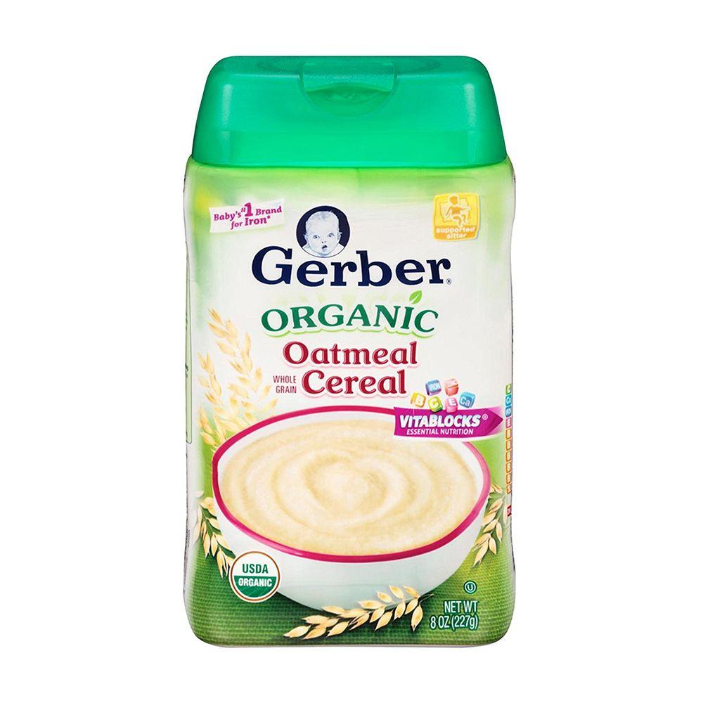 10 Best Baby Cereals for 2018 - Top Organic Cereal Brands ...