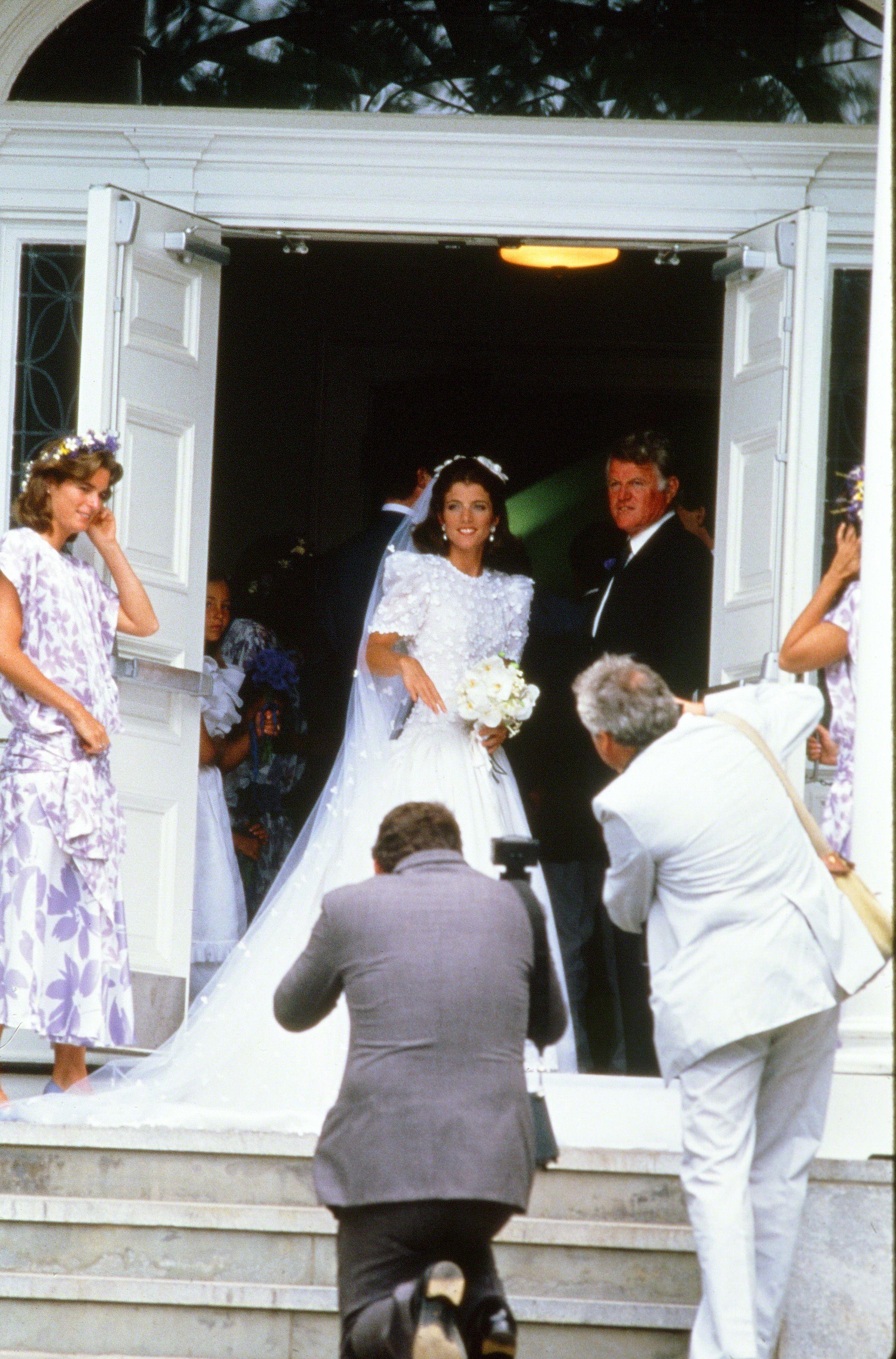 Caroline Kennedys Wedding  Photos of Caroline Kennedy
