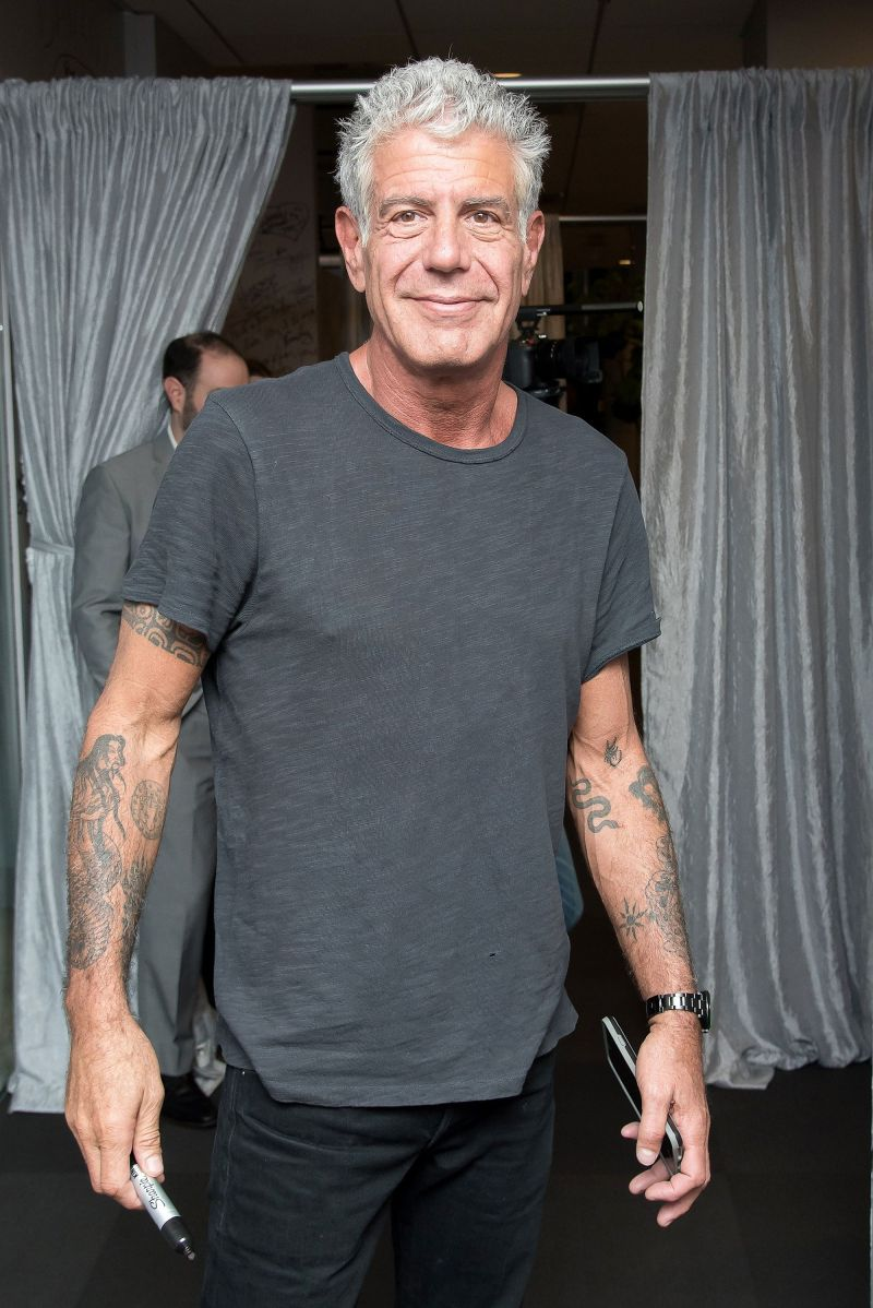 Anthony Bourdain's Mom Is Getting a 'Tony' Tattoo to Honor Her Son 1
