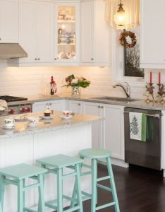 decor tips to make your kitchen  christmas dream also ideas how decorate for rh elledecor
