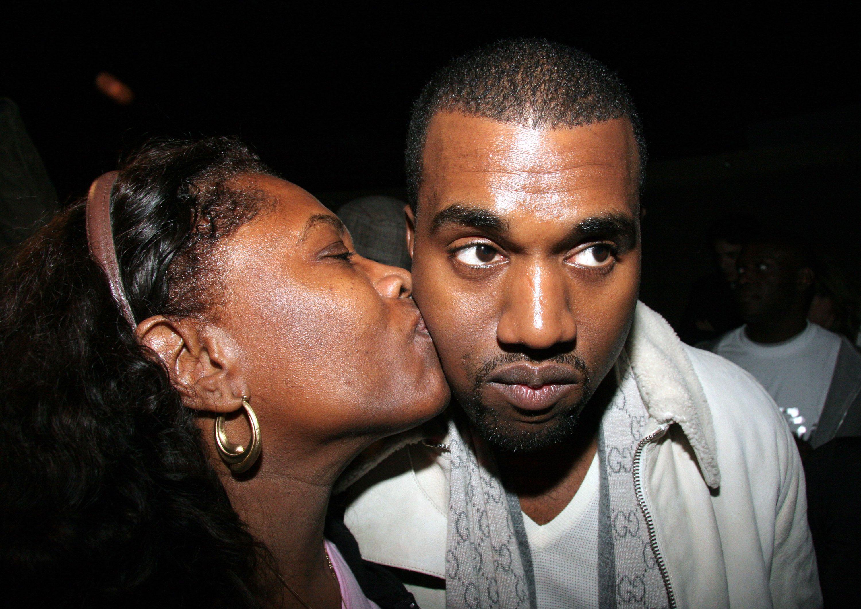 Kanye West with Donda (Image: harpersbazaar.com)