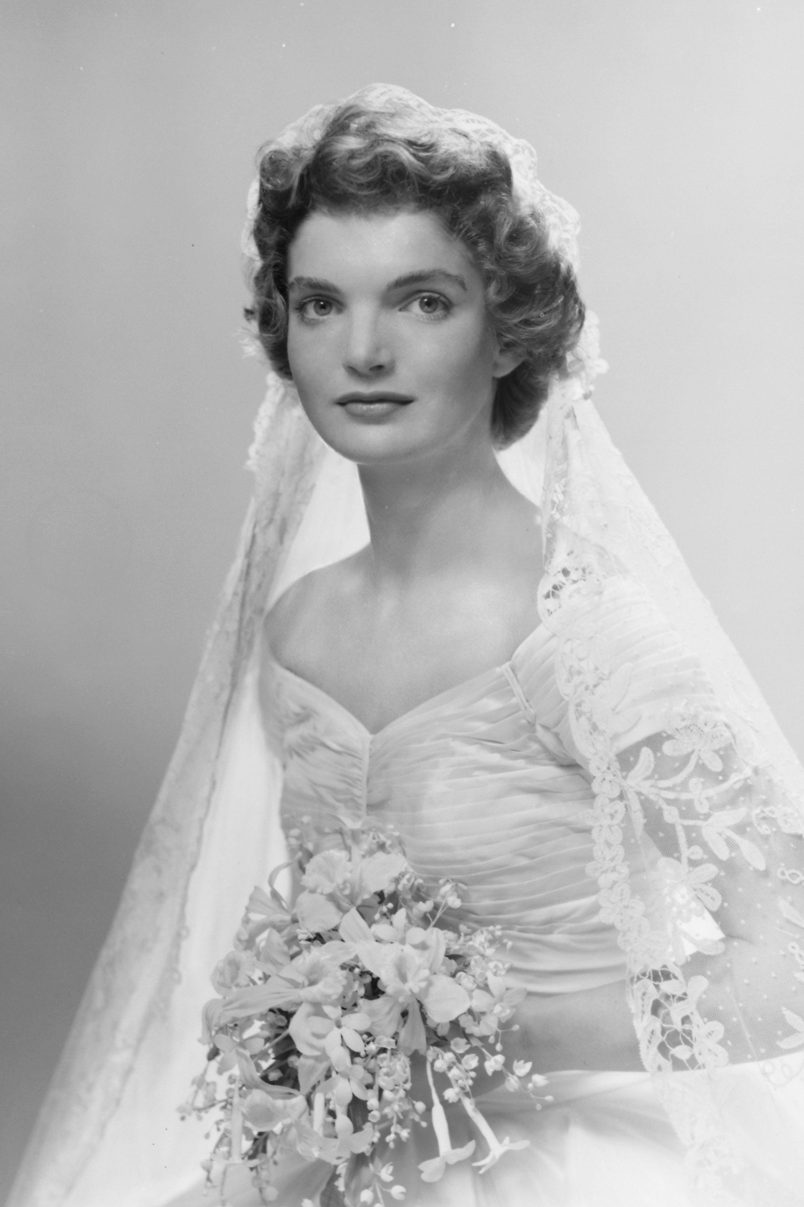 Jackie Kennedy Wedding Portrait