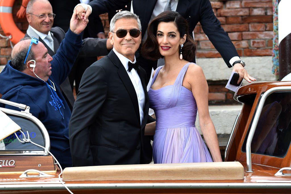 George Amal Clooney Venice Film Festival