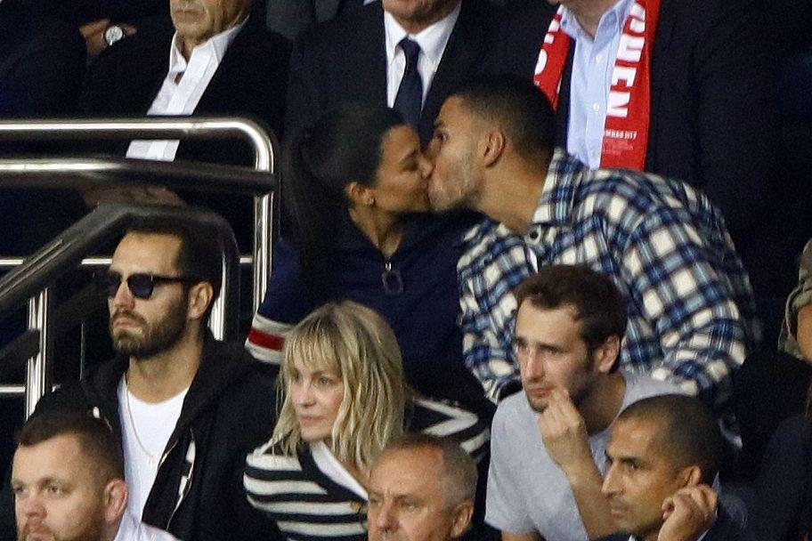 Celebrities attend PSG v Bayern Munich
